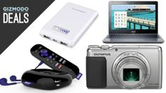 $100 off an awesome Olympus, Roku 2, Chromebooks, and more in today's #deals.