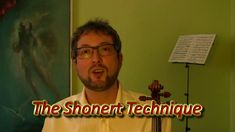 "Welcom to The Shonert Academy. I offer the violin lessons in person or on line using the unique method ""The Shonert Technique"", which is effective for violin. Effective Learning, Violin Lessons, Play, Youtube, Videos, Video Clip, Youtube Movies"