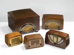 Charles and Ray Eames COLLECTION OF FIVE RADIOS                                                                                                                COLLEC...