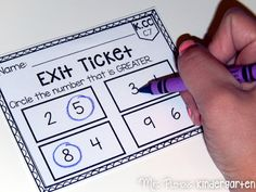 Common Core aligned exit tickets! Great skill check!