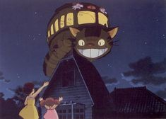 My Neighbor Totoro - reposting for my family and memories of being little watching this amazing film!
