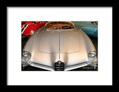 Alfa Romeo Bat 9 Dsc02654 Framed Print by Wingsdomain Art and Photography  wingsdomain ransportation car cars alfa romeo alfa romeo bat 9 alfa romeo bat 9 bat concept car concept cars wing wings european car european cars import car import cars exotic exotic cars