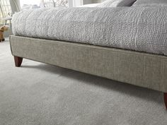 Chelsea Fudge Small Double Bed - Foot end