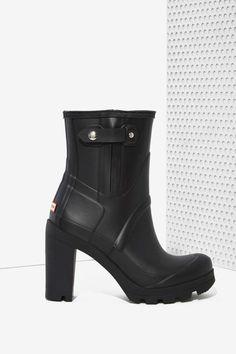 Hunter Original High Heel Rainboot - Ankle | Heels | Heels | Shoes