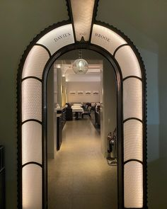 Architecture Restaurant, Architecture Design, Wall Cladding Designs, Asian Bistro, Luxe Decor, Room Of One's Own, Architrave, Signage Design, Environmental Design