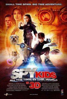 Dimension Films (presents) Troublemaker Studios Mulberry Square Productions Spy Kids 4 SPV