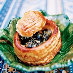 For a more rustic version of this dish, serve the snails with a warm baguette instead of in the puff pastry shells. Plus: More Appetizer Recipes an. Escargot Recipe, Snails Recipe, Baguette, Appetizer Recipes, Appetizers, Pepperidge Farm Puff Pastry, Pastry Shells, Puff Pastry Recipes, Cream Cheese Filling