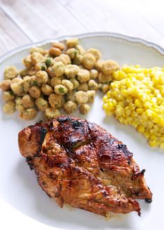 All-Purpose Marinade Recipe - soy sauce, Worcestershire, olive oil, sugar, garlic powder, onion powder and lemon juice. I aways have this in the fridge. Great on chicken, pork and steak. Seriously, THE BEST marinade around!