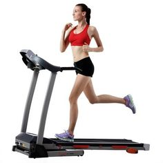 Get a great cardio workout without the use of clunky, space-crowding equipment . the Sunny Health & Fitness Treadmill offers plenty of options to keep your workout fun and effect Incline Treadmill, Folding Treadmill, Treadmill Workouts, Treadmills For Sale, Treadmill Reviews, Shopping, Training, Exercises, Treadmill