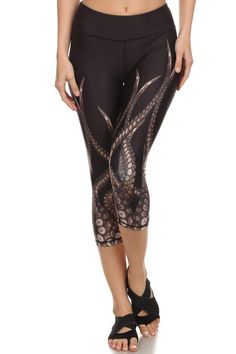 Octopus running capris from Poprageous. Yes, I want.