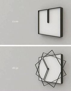 horloge originale idee deco home maison How cool is this clock? Cadre Design, Cool Clocks, Deco Originale, Cool Inventions, Future Inventions, Deco Design, Design Design, Design Trends, Cool Gadgets