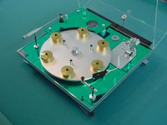 Transcriptors Hydraulic Reference Turntable. Designed by David Gammon. #recordplayer #turntable #music #audio http://www.pinterest.com/TheHitman14/the-record-player-%2B/
