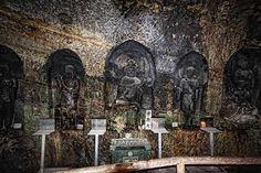 Benten-Kutsu Cave at Hasedera in Kamakura. WWW.2AussieTravellers.com