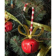 e53ce6a742da5 Peppermint Cane Bell Ornament. Round Top CollectionChristmas ...