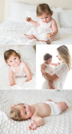 "I LOVE this age!It's a perfect time to do a ""Mini Baby Session"". They typically aren't completely crawling or walking yet, but just looking as cute as can be sitting up on their own!I love keeping these sessions timeless, natural with the main focus simply on baby..."