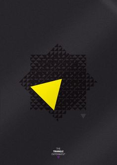 The Triangle Experiment by Minga, via Behance