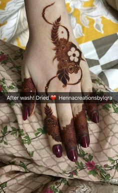 Finger Mehendi Designs, Kashee's Mehndi Designs, Pretty Henna Designs, Modern Henna Designs, Indian Henna Designs, Floral Henna Designs, Henna Tattoo Designs Simple, Mehndi Design Pictures, Wedding Mehndi Designs