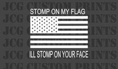 AMERICAN-FLAG-FUNNY-WINDOW-DECAL-STICKER-car-truck-funny-skull-girl-cute-JDM