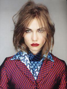 karlie kloss by Nick Knight / Vogue UK September 2012.