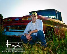 Truck with the boys Hughes Photography