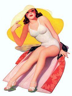 Vintage Venus - Luscious vintage pinup posters and prints.