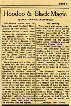 """HOODOO ARTICLE 