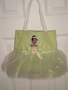 Princess and the Frog Tote Bag.