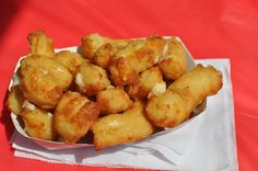 Deep Fried Cheese Curds--State Fair style