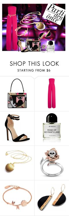 Just Party by krissel1 on Polyvore featuring moda, Halston Heritage, Prada, Disney, Chanel and Byredo