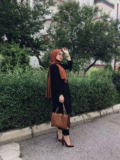 Modern Hijab Fashion, Muslim Women Fashion, Street Hijab Fashion, Hijab Casual, Hijab Chic, Hijabi Girl, Girl Hijab, Hijab Outfit, Hijab Elegante