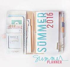 Summer Planner by MarieL at @studio_calico
