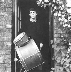 Paul, 1962  Place: 20 Forthlin Road  Photographer: Mike McCartney