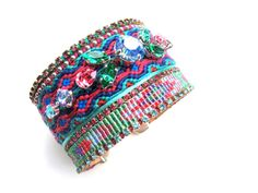 Swarovski friendship bracelet  friendship by distinguishedesigns, $215.00