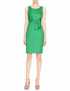 I need this...as soon as it goes on sale.  The Limited Faux Tie Front Sheath Dress