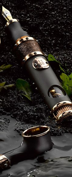 ♂ masculine & elegance The Titanic DNA Fountain Pens by Romain Jerome