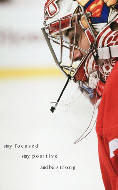 """Chicago Blackhawks — footbaw:  """"Stay focused, stay positive, and be..."""