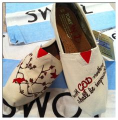custom toms shoes by jcgray1 on Etsy, $79.00