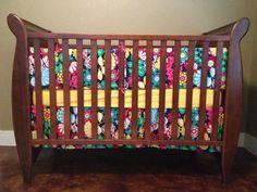 Custom Crib Bumper Set