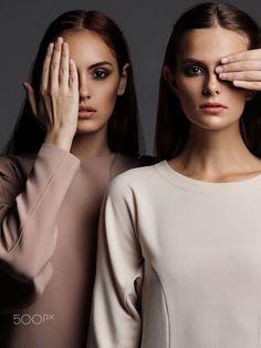 Two - Models Kristina Maksimets & Eva Shemetova