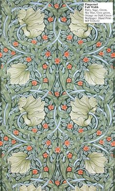 William Morris - Pimpernel Hand Print -