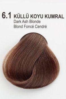 Exicolor Haarfarbe 6 1 Dunkelblond Asch 60ml Dunkelblond