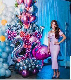 temas para fiestas de mujer temas para fiestas de mujer Balloon Columns, Balloon Arch, Balloon Garland, Balloon Decorations, Birthday Party Decorations, Happy Birthday Girls, Barbie Birthday, Birthday Cake, Number Balloons