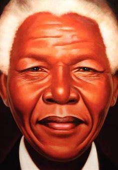 Nelson Mandela, by Kadir Nelson