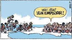 Inmigrantes / Manel Fontdevilla + @eldiarioes | #nonosvamosnosechan #socialgeo