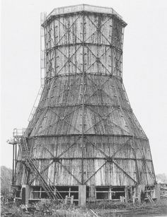 Bernd and Hilla Becher, Cooling Tower