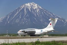 "fcba: "" ""Russian Air Force Il-78 tanker during testing of in-flight refueling at…"