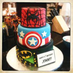 I like the Captain America layer