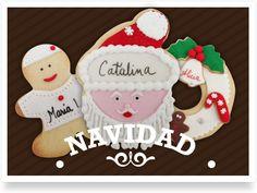 Galletas decoradaa Navidad