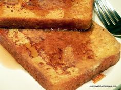 Finding Joy in My Kitchen: Sweet Potato French Toast