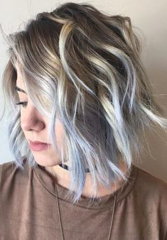Pastel Blue Hair Color Ideas for 2017 – Best Hair Color Trends 2017 – Top Hair Color Ideas for You